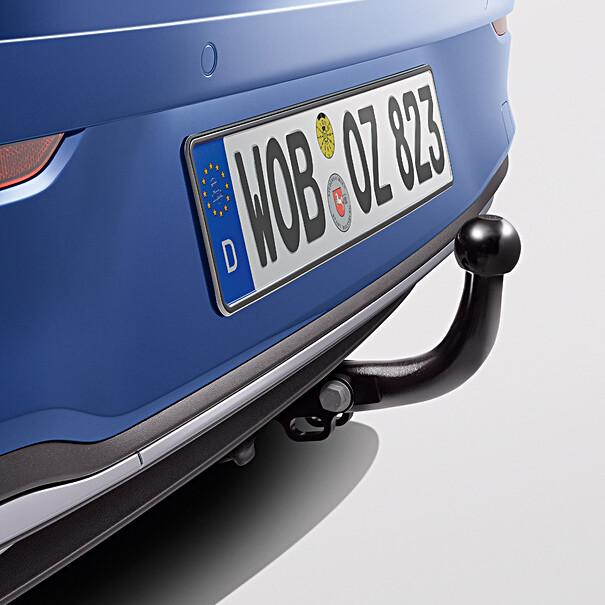 Volkswagen Vaste trekhaak Golf, inclusief 13-polige kabelset