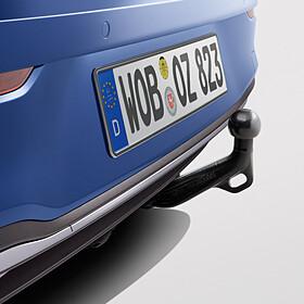 Volkswagen Afneembare trekhaak Golf, inclusief 13-polige kabelset