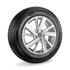 Volkswagen 15 inch lichtmetalen winterset Gavia, Golf