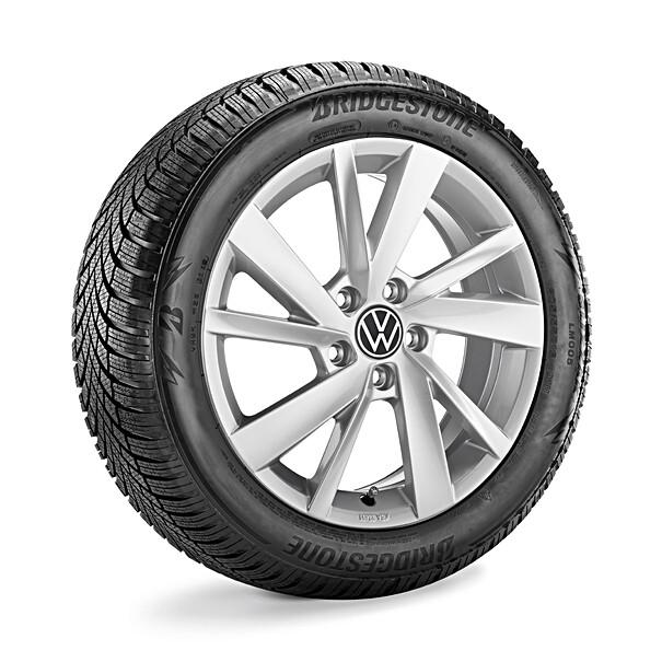 Volkswagen 16 inch lichtmetalen winterset Gavia, Golf