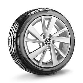 Volkswagen 17 inch lichtmetalen winterset Gavia, Golf