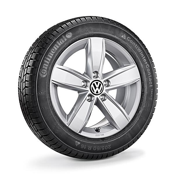 Volkswagen 15 inch lichtmetalen winterset Corvara, Caddy