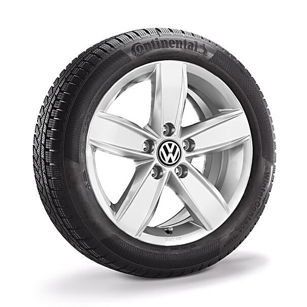 Volkswagen 16 inch lichtmetalen winterset Corvara, Caddy