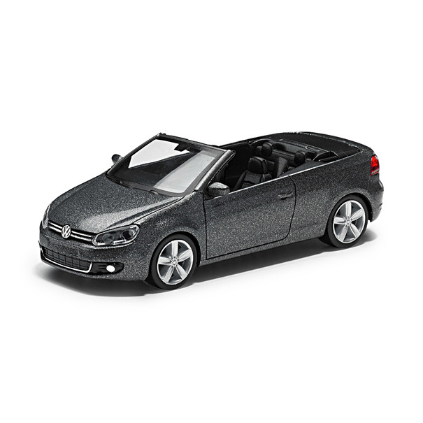 Volkswagen VW Golf Cabrio 1:87 Grey Metallic