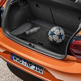 Volkswagen Bagage afscheidingsnet, verhoogde laadvloer