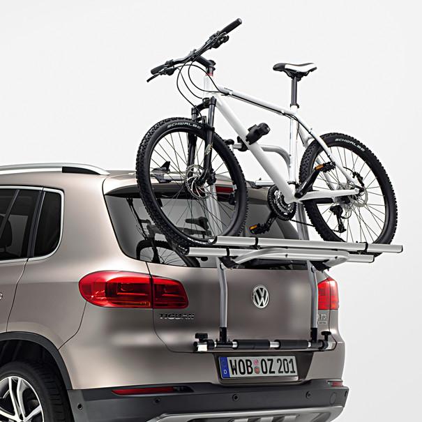 Volkswagen Fietsendrager voor op achterklep Tiguan, 2 fietsen