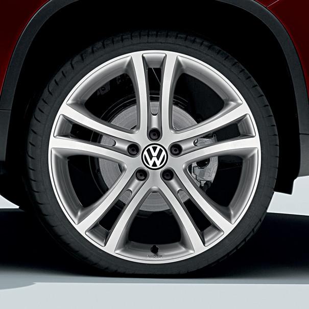 Volkswagen 19 inch lichtmetalen zomerset, Savannah, Briljantzilver