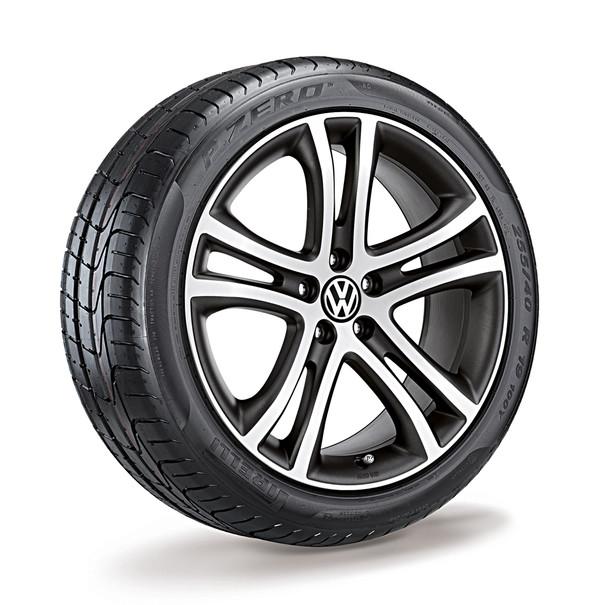 Volkswagen 19 inch lichtmetalen zomerset, Savannah, antraciet