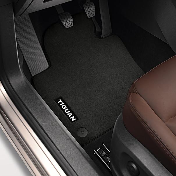 Volkswagen Velours mattenset Tiguan, voor en achter