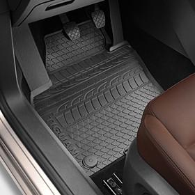 Volkswagen Rubberen mattenset Tiguan, bandprofiel, voor