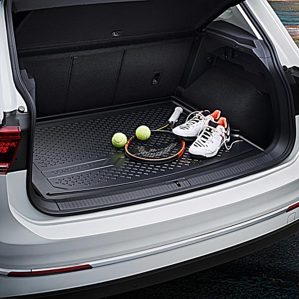 Volkswagen Kofferbakmat Tiguan, variabele laadvloer