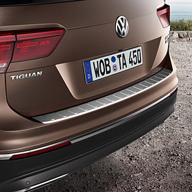 Volkswagen Achterbumper beschermlijst, Tiguan