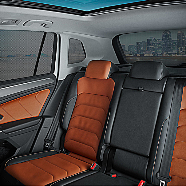Volkswagen Zonwering complete set, Tiguan