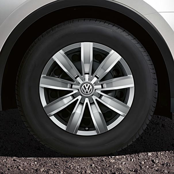 Volkswagen 17 inch wieldoppenset, Tiguan