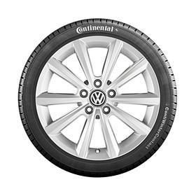 Volkswagen 17 inch lichtmetalen winterset Merano, zelfdichtend, Tiguan