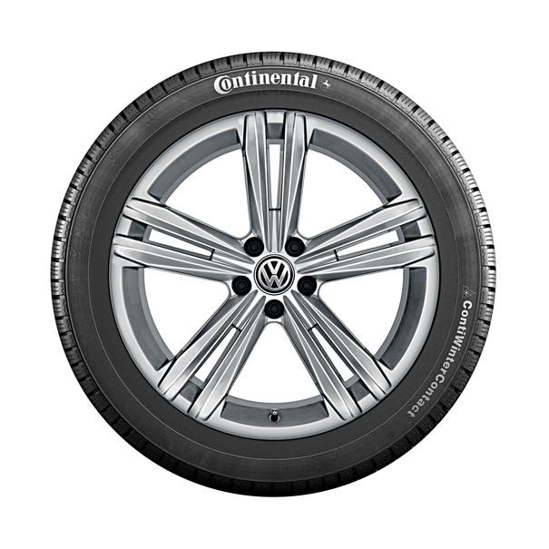 Volkswagen 18 inch lichtmetalen winterset Sebring, zelfdichtend, Tiguan