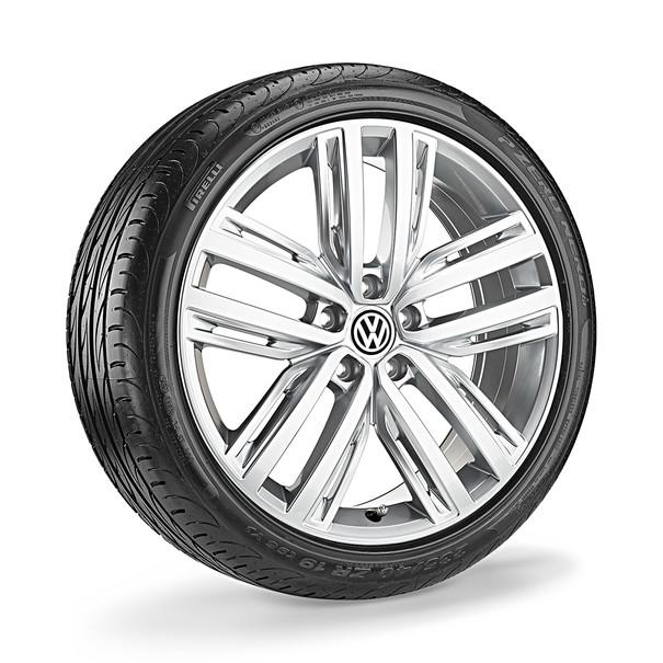 Volkswagen 19 inch lichtmetalen zomerset, Auckland Sterling zilver