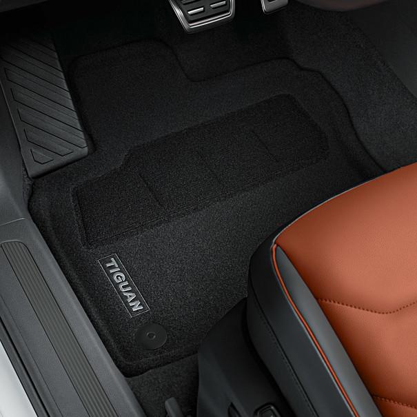 Volkswagen Optimat mattenset Tiguan, met opschrift, voor + achter