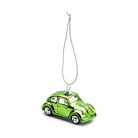 Volkswagen Beetle kerstbal, groen