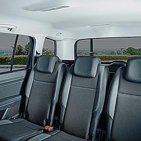 Volkswagen Zonwering complete set, Touran