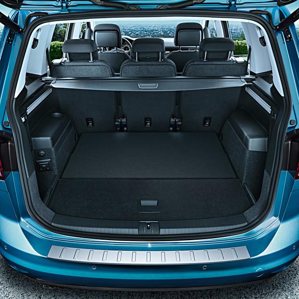 Volkswagen Chroomlook achterbumperbeschermlijst Touran
