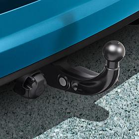 Volkswagen Afneembare trekhaak Touran, inclusief 13-polige kabelset