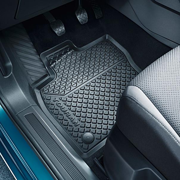 Volkswagen All-weather mattenset Touran, voor