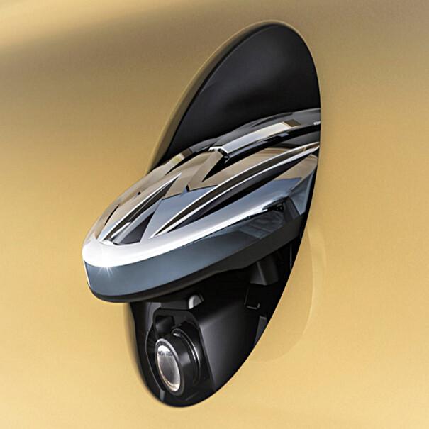Volkswagen Achteruitrijcamerasysteem, Touran