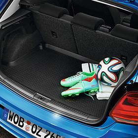 Volkswagen Kofferbakinleg Polo, met vaste bodem