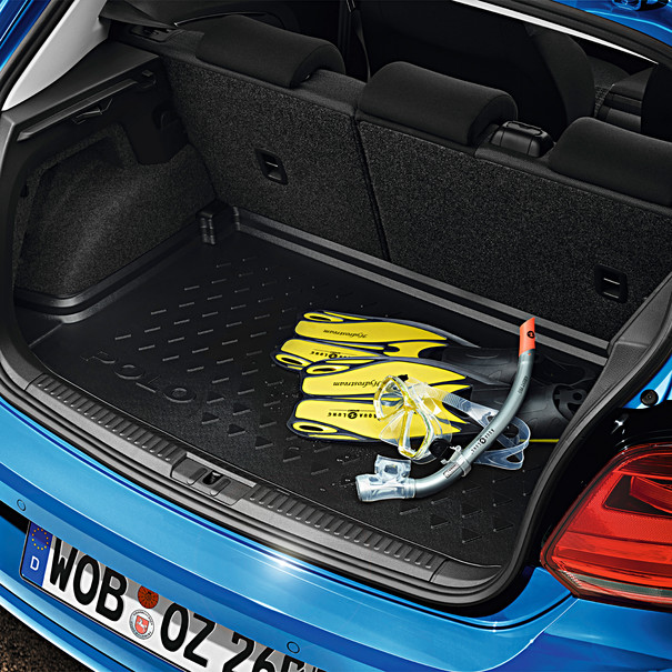 Volkswagen Kofferbakmat Polo, met variabele bodem