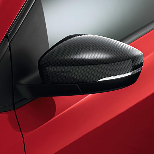 Volkswagen Spiegelkappen, carbonlook