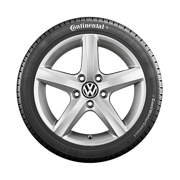 Volkswagen 15 inch lichtmetalen winterset Aspen, Polo