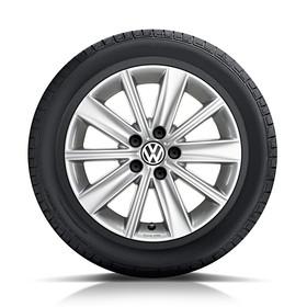 Volkswagen 15 inch lichtmetalen zomerset, Zirkonia