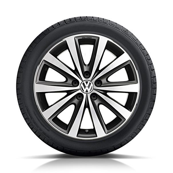Volkswagen 16 inch lichtmetalen zomerset, Syenit, antraciet