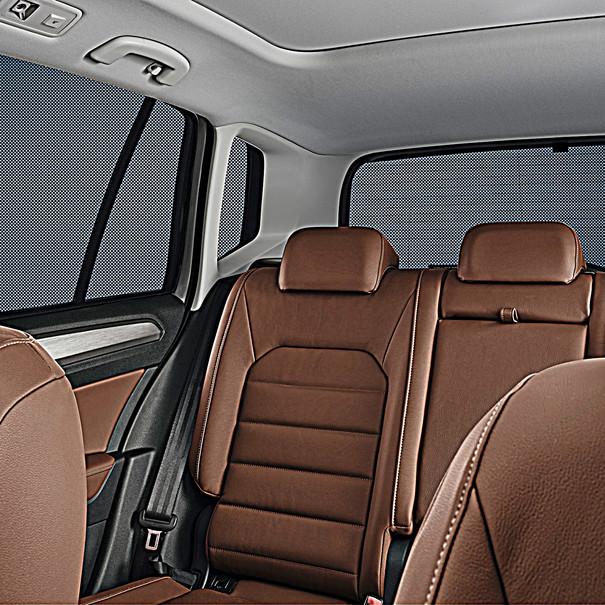 Volkswagen Zonwering complete set, Polo 4-deurs