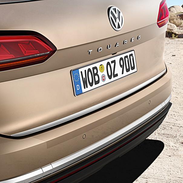 Volkswagen Achterbumper beschermfolie, Touareg