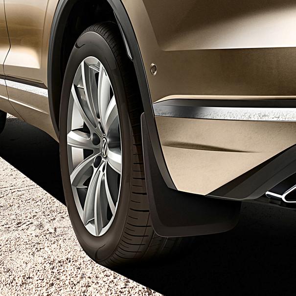 Volkswagen Spatlappen Touareg, achterzijde
