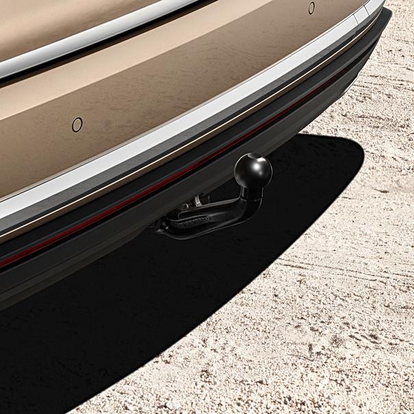 Volkswagen Afneembare trekhaak Touareg, inclusief 13-polige kabelset