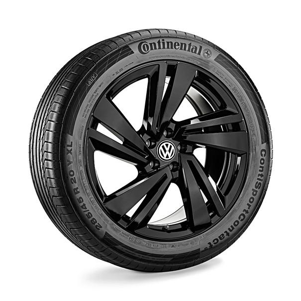 Volkswagen 20 inch lichtmetalen zomerset, Nevada zwart