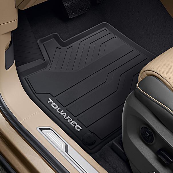 Volkswagen Allweather mattenset Touareg, voor + achter