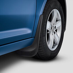 Volkswagen Spatlappen Crafter dubbellucht, achter