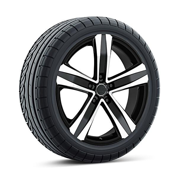 Volkswagen 17 inch lichtmetalen zomerset, MAK Stone, Crafter