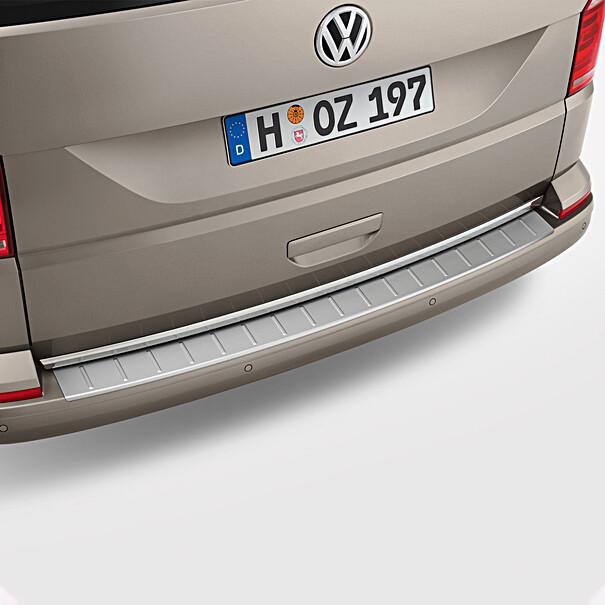 Volkswagen Achterbumper beschermlijst RVS look, Transporter