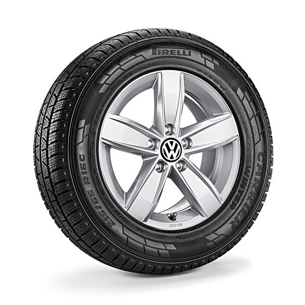Volkswagen 16 inch lichtmetalen winterset Corvara, Transporter