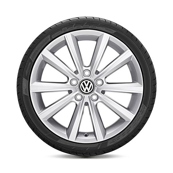 Volkswagen 17 inch lichtmetalen zomerset, Merano