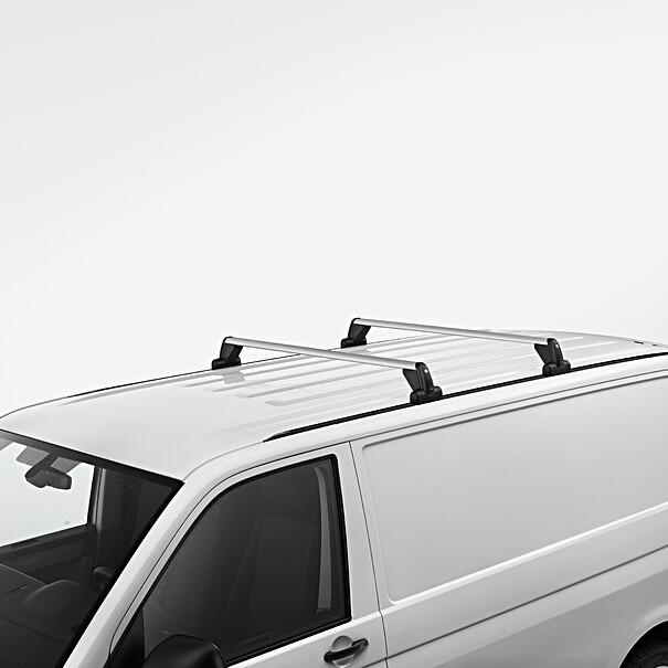 Volkswagen Allesdragers Transporter, met bevestigingsrails