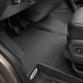 Volkswagen All-weather mattenset Transporter, voor + tunnelmat