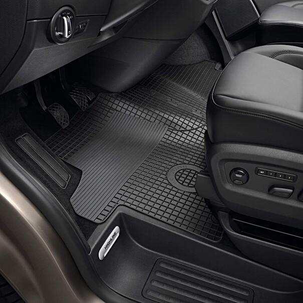 Volkswagen Rubberen mattenset Transporter, voor + tunnelmat