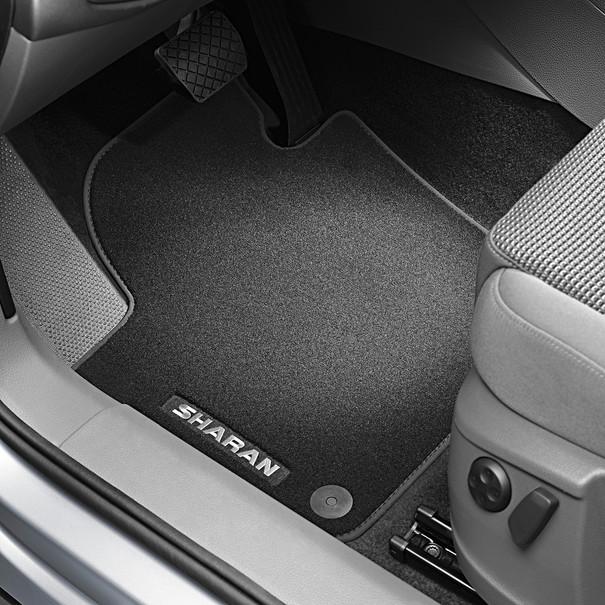 Volkswagen Velours mattenset Sharan, voor en achter