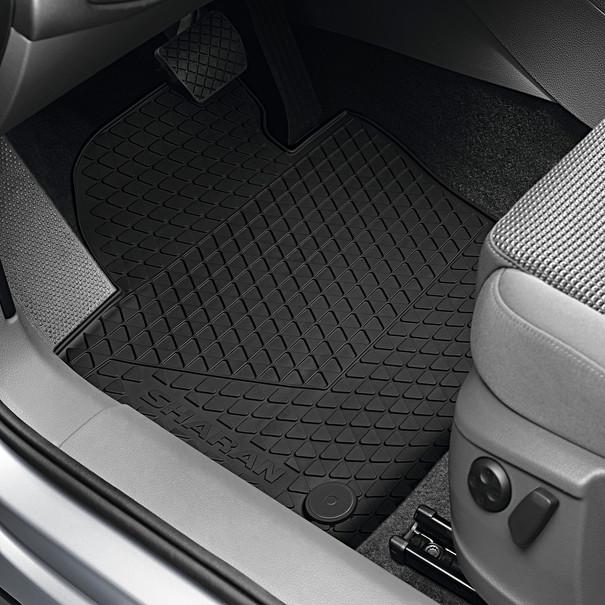 Volkswagen Rubberen mattenset Sharan, voor